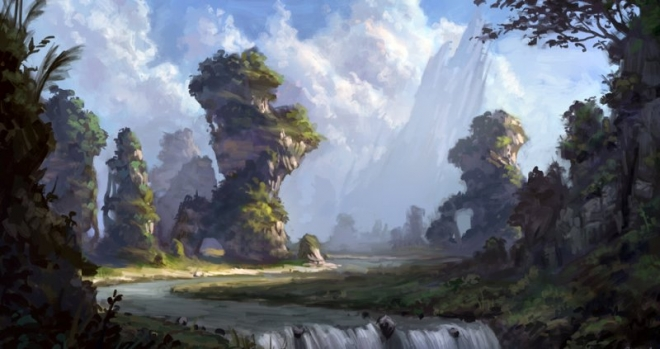 digital painting by selene