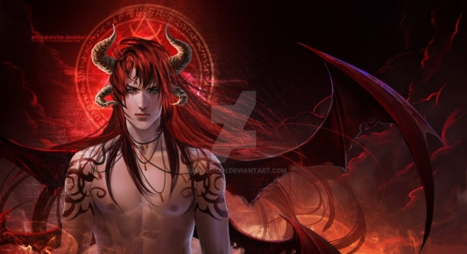 diablo digital art by sakimichan