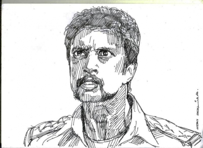 sudeep color pencil drawings by jay
