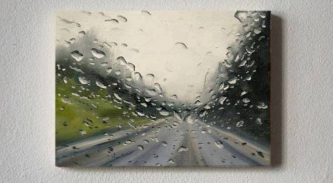rain paintings by valentine