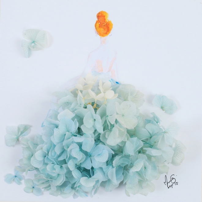 flower art by lim zhi wei