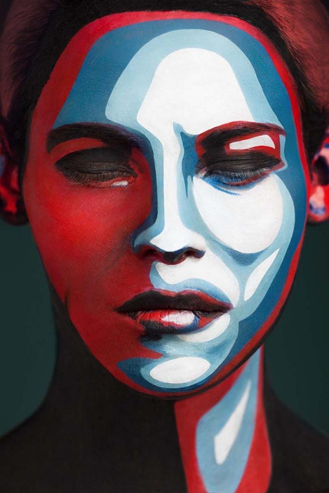 face painting valeriya
