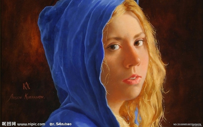 oil painting by arsen kurbanov