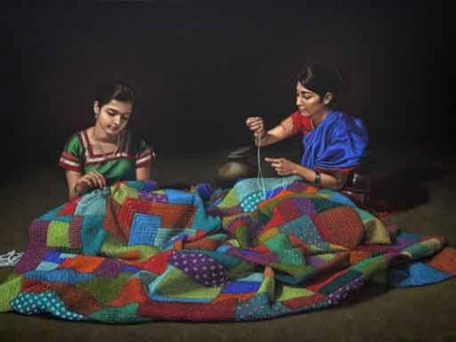 paintings by shri shashikant dhotre