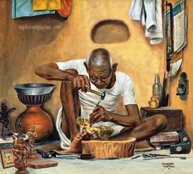 painting sculpturist tamilnadu