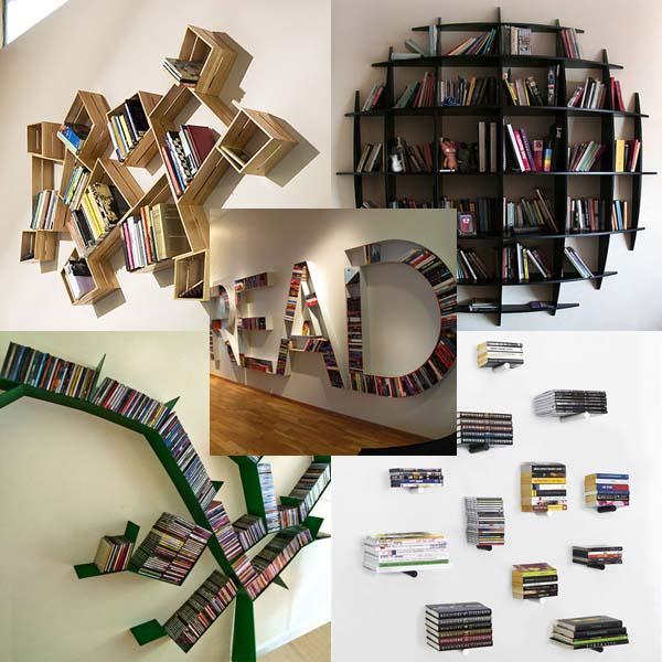 2 diy inspiration ideas book shelf