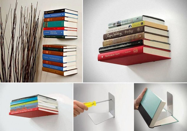 diy inspiration ideas book shelf