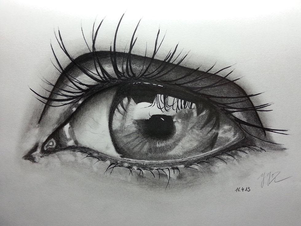 eyes drawings realistic pencil drawings eye