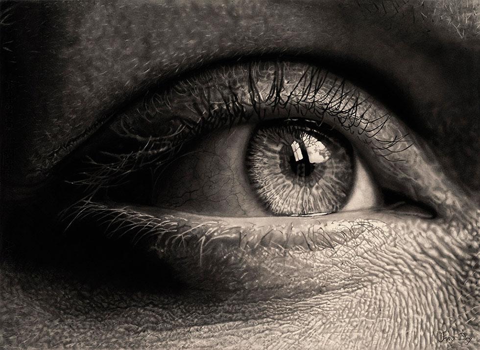 eyes drawings realistic perspective eye