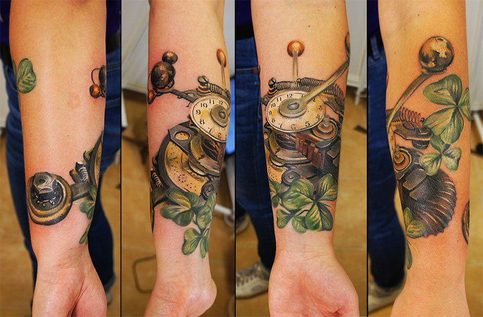 tattoos for men steampunk artwork