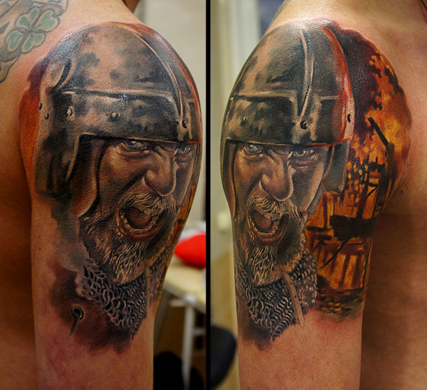 tattoos for men viking artwork by grimmy