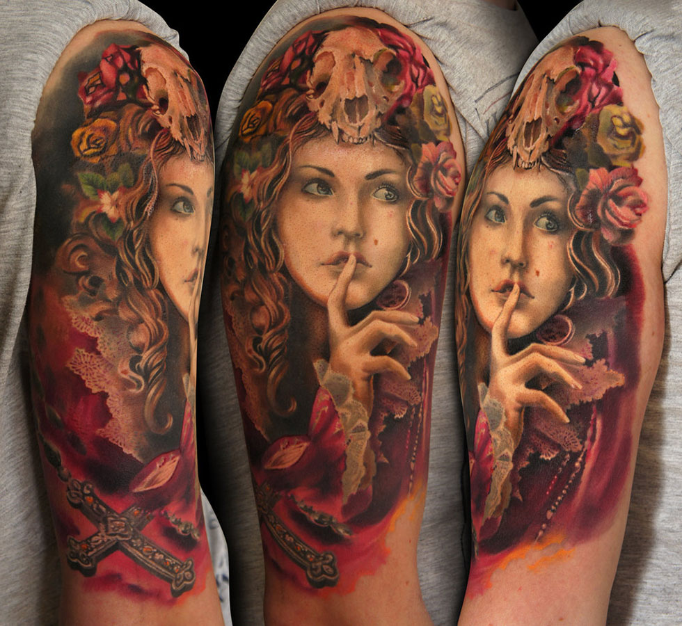 tattoos for men woman artwork by grimmy
