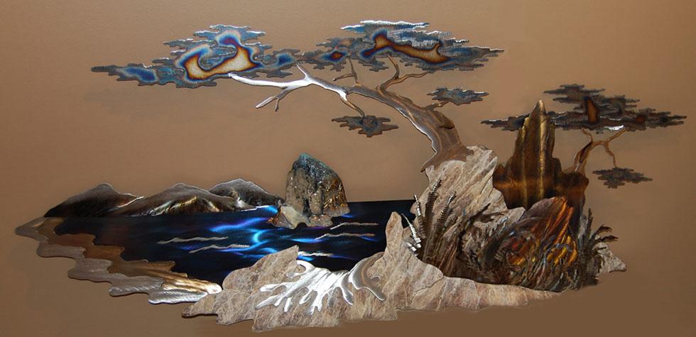 wall sculpture nature