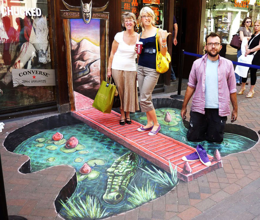 3d street art by joe
