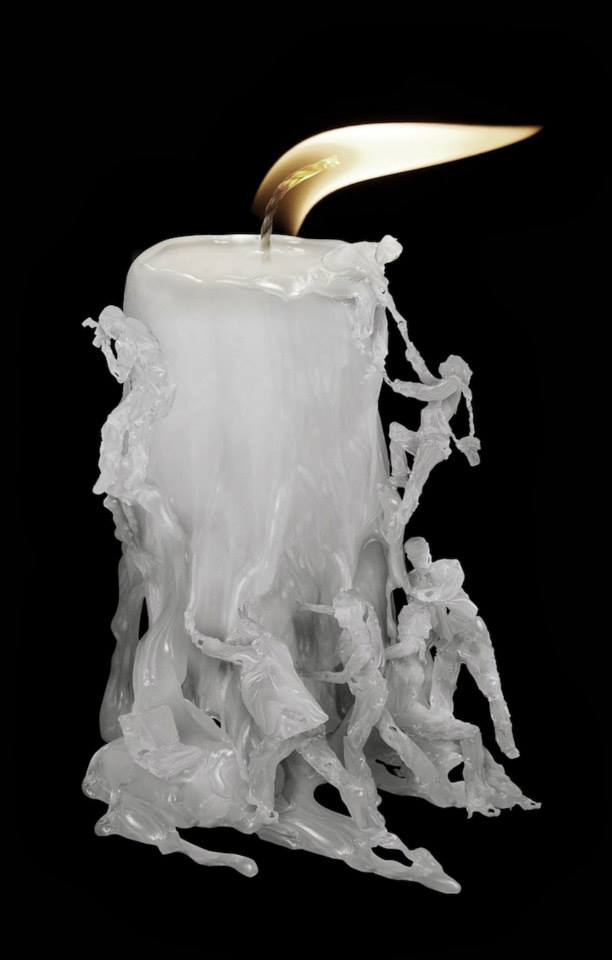 candle sculpture
