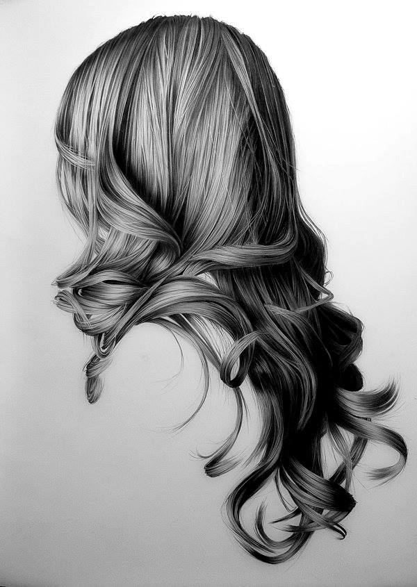 hair drawings by brittany