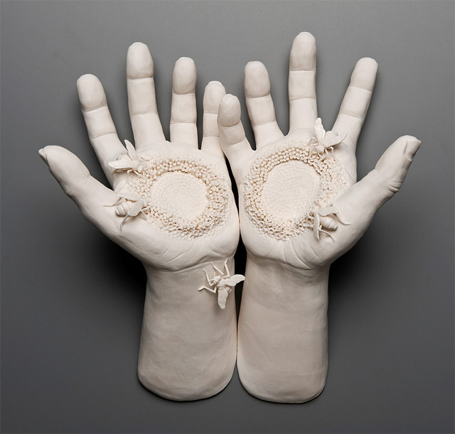 hand sculptures by kate