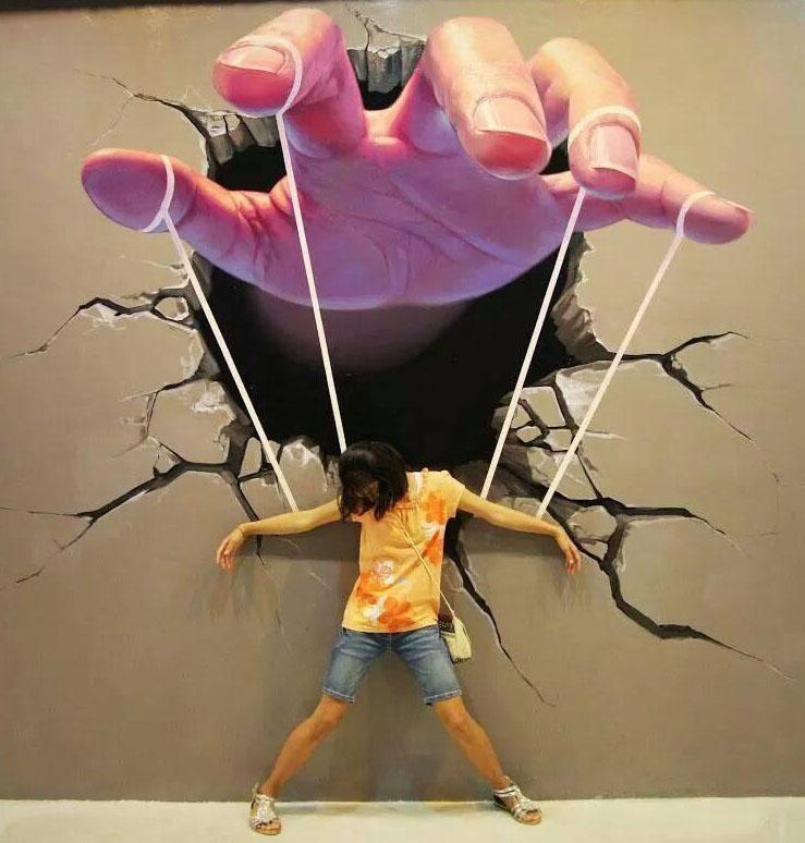 hand street art