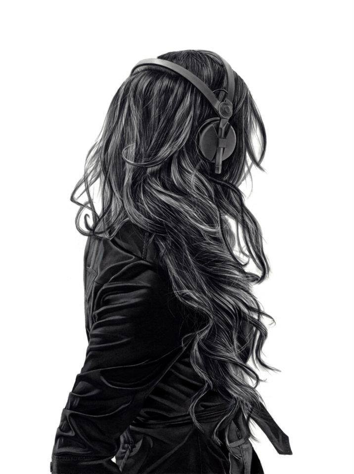 headset drawing
