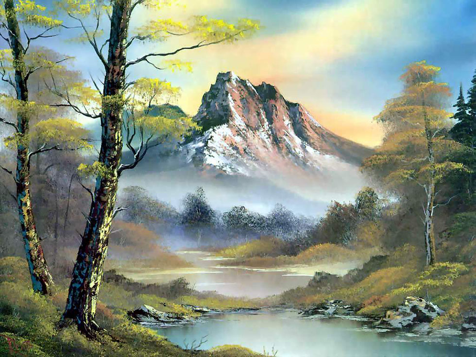 landscape oil paintings by bob