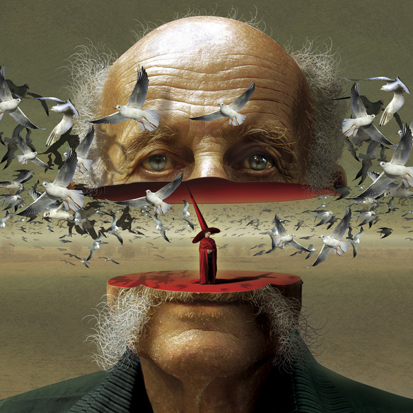 man surreal paintings by igor