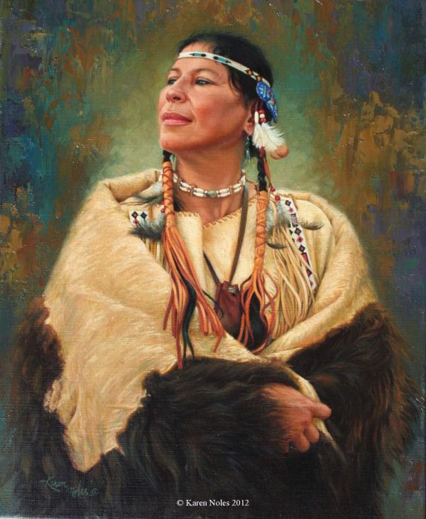 native oil paintings