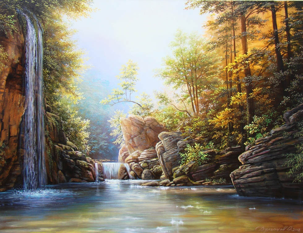 Famous Oil Paintings Of Nature