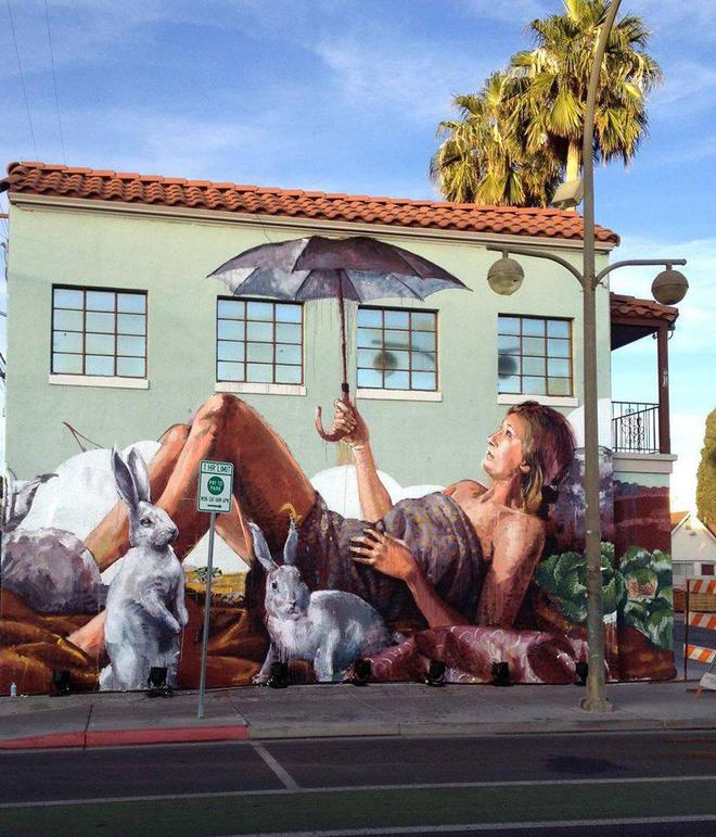 woman street art by fintan