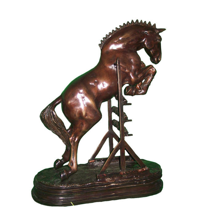 horse bronze sculptures -  1