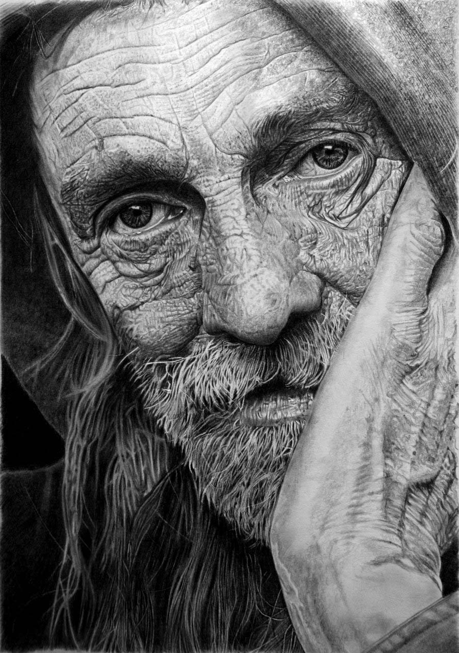 pencil drawings by franco clun -  1
