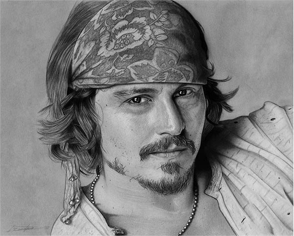 realistic face drawings -  10