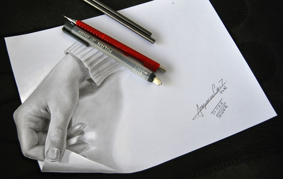 hand 3d drawings by joaquim cruz -  11