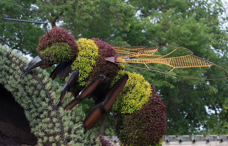 11 insect garden sculptures