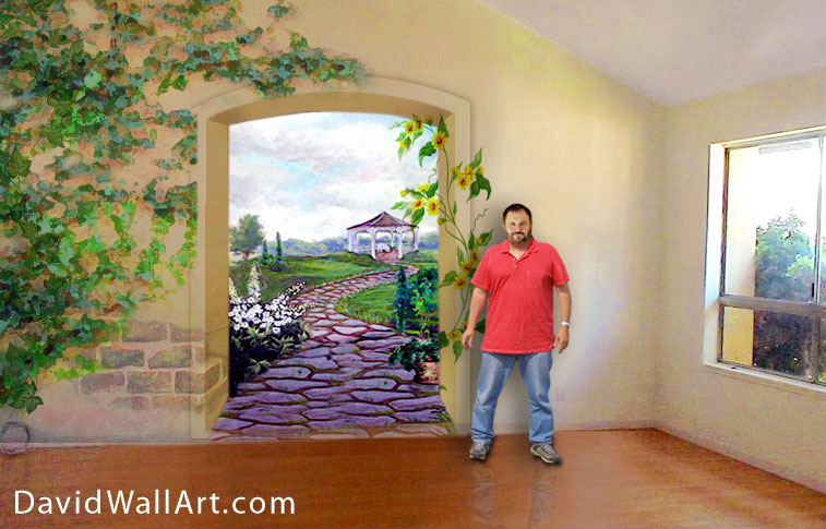 nature wall mural art -  11