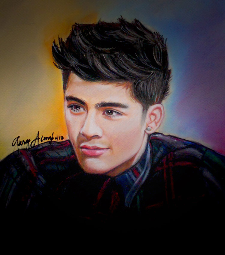 pastel painting by gary25dude