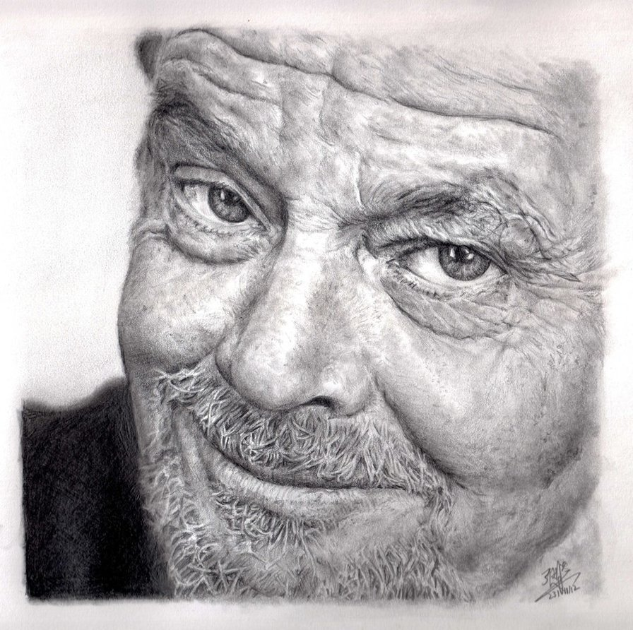 11 realistic face drawings