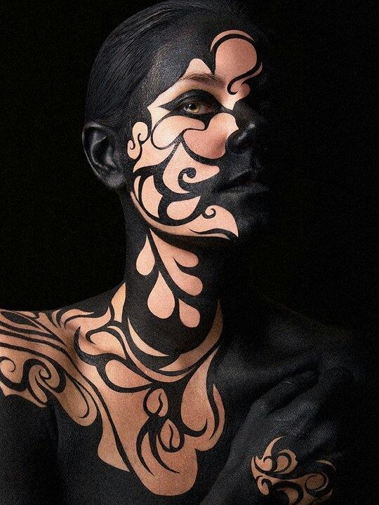 12 body paintings