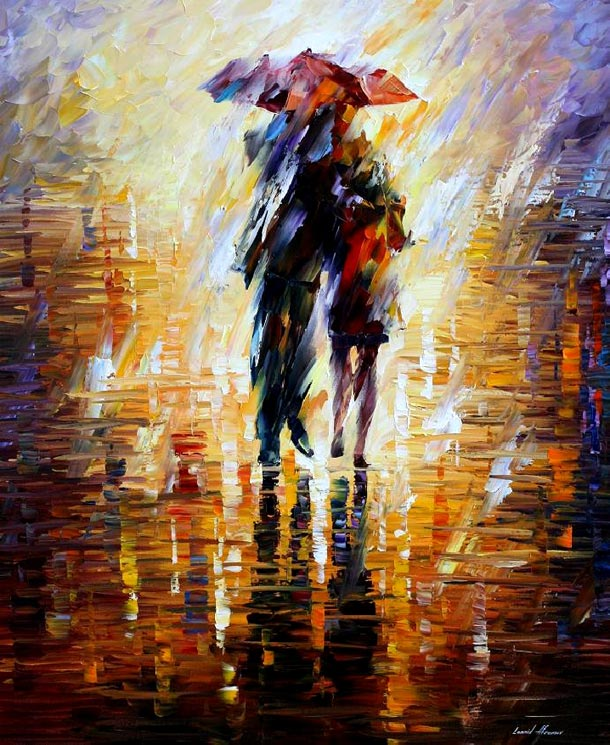 colourful painting by leonid afremov -  12