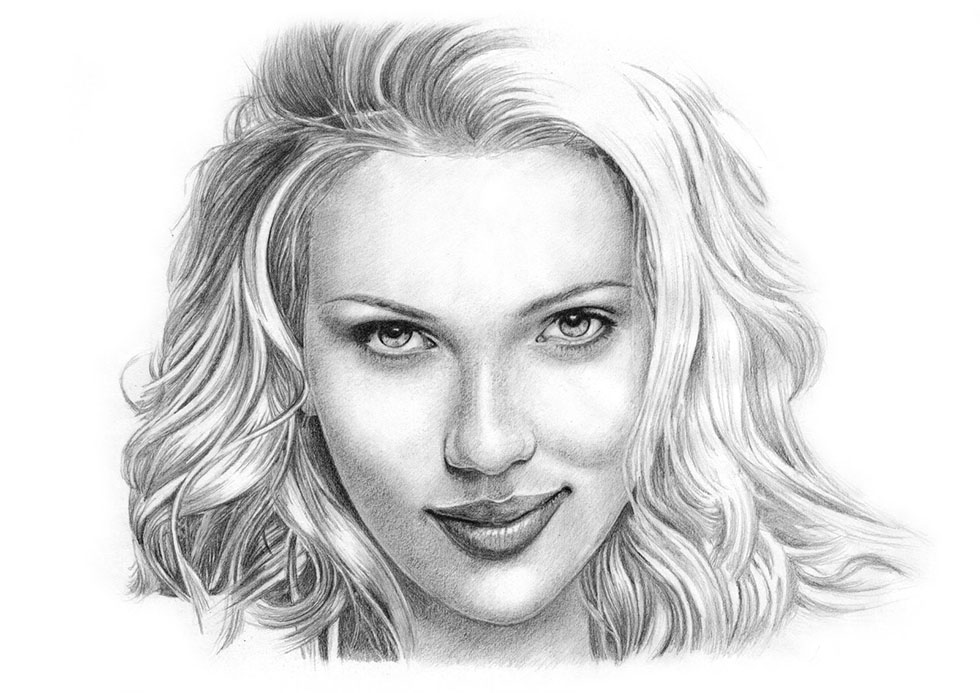 potrait drawings by alien -  12