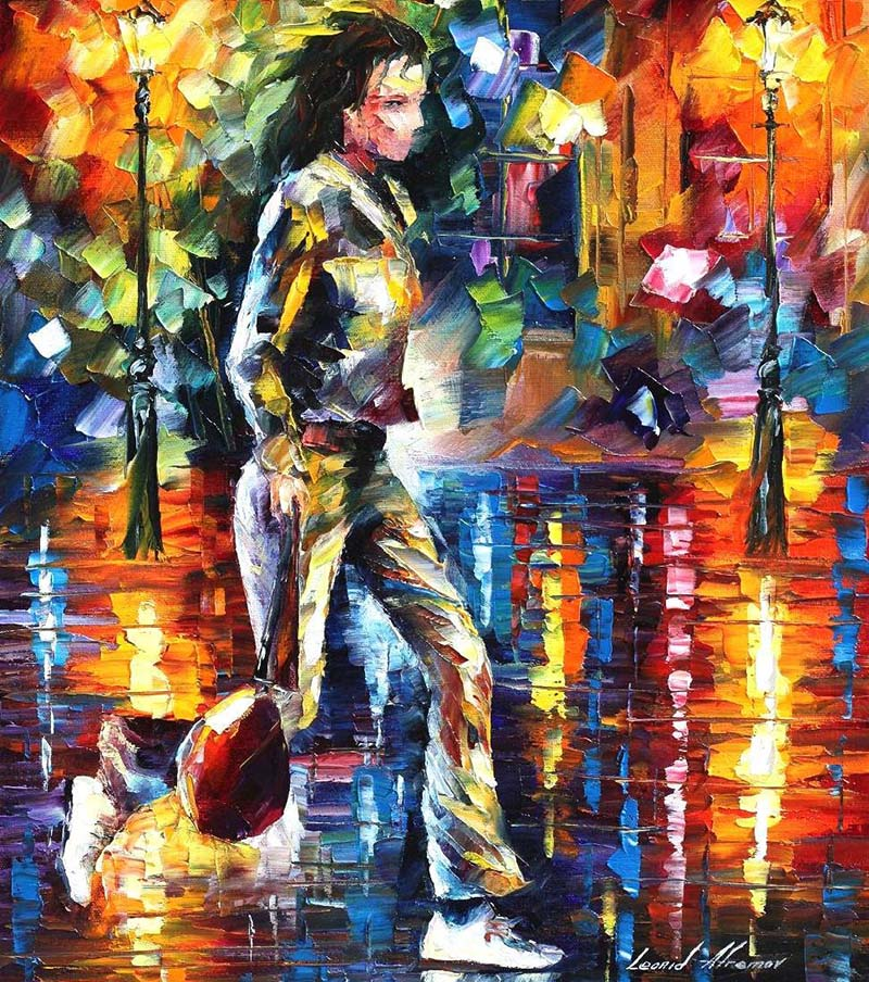 girl colorful paintings by leonidafremov