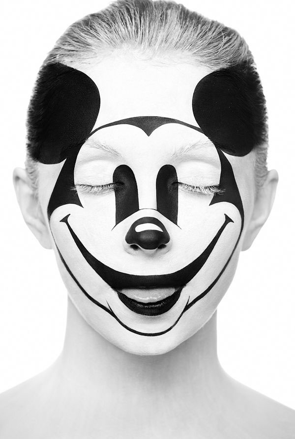 micky mouse face paintings -  13