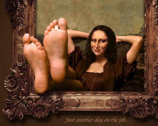 13 monalisa funny paintings