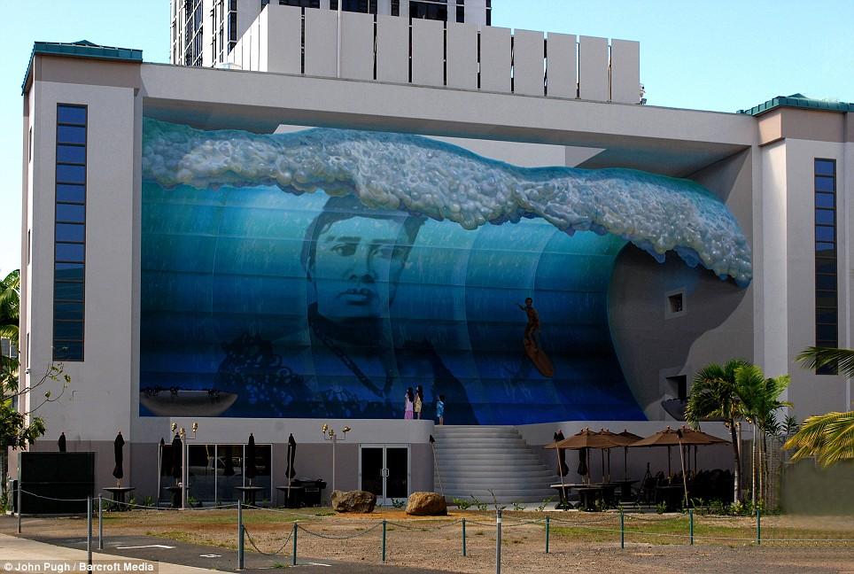 wall mural art by john pugh