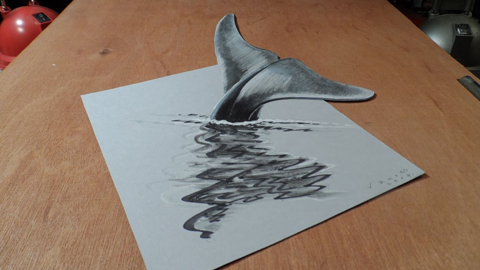 fish 3d drawings -  15