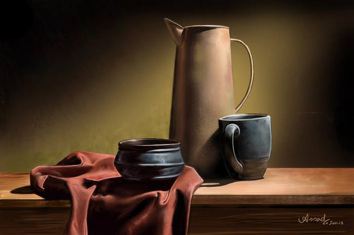 still life painting by chweet punk -  15
