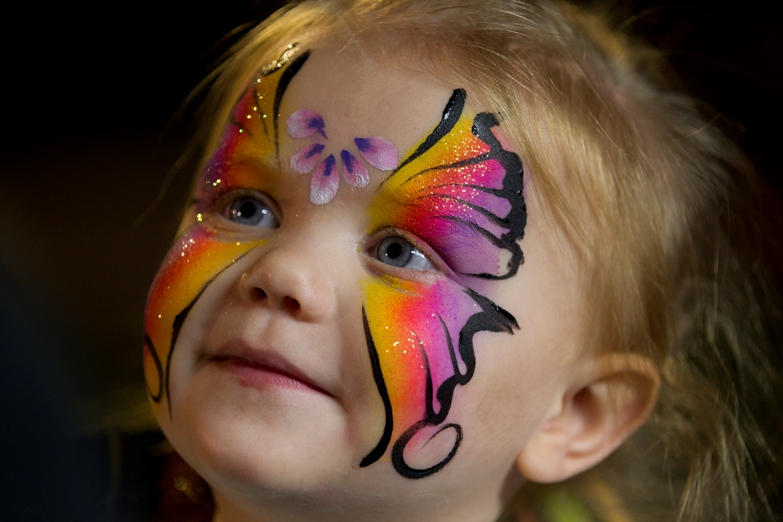 cute face paintings