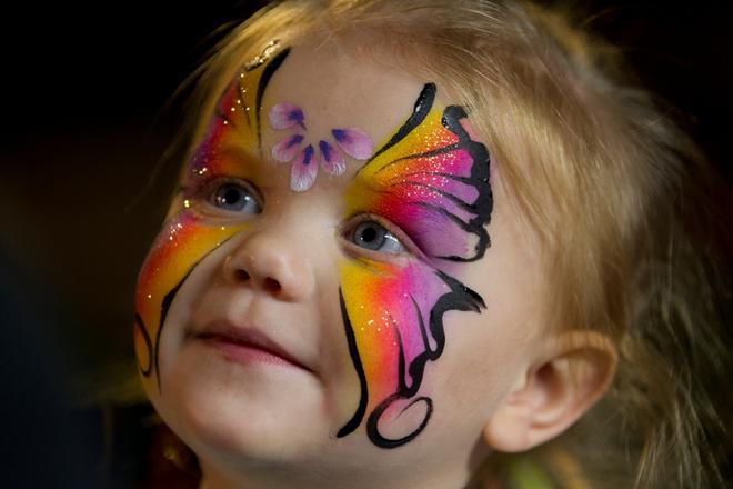 cute face paintings -  16