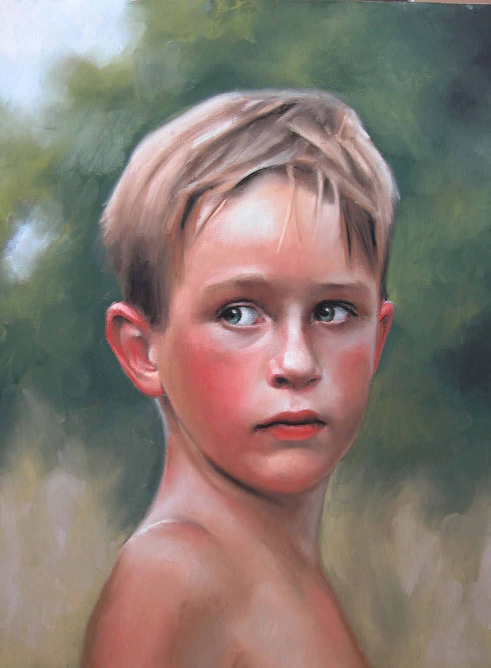 pastel painting by amy childree