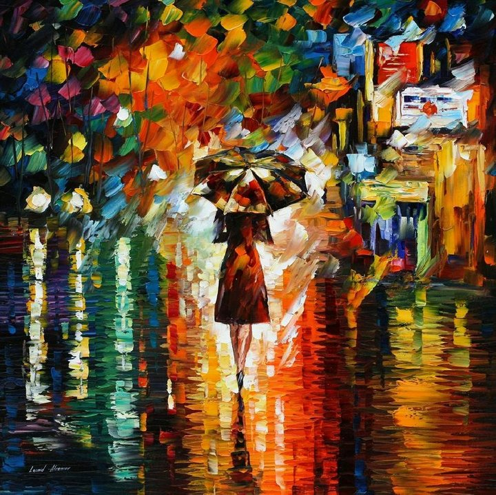 colorful paintings by leonid afremov -  17