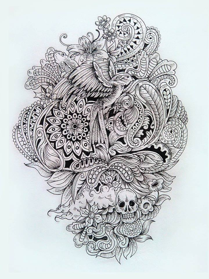 doodle art by renen mariano -  17